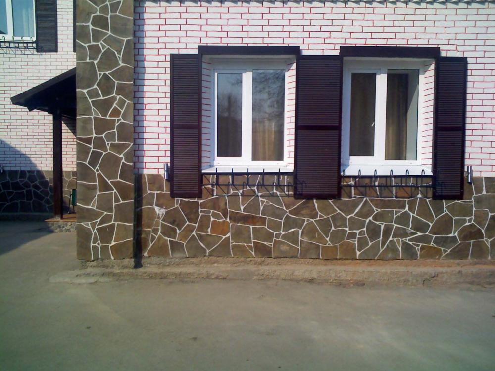 Отделка фасада дома дешево и красиво